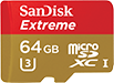 SanDisk Extreme for Action Cameras