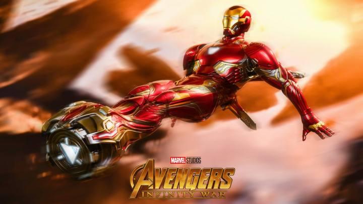 Iron Man mk L accessoires