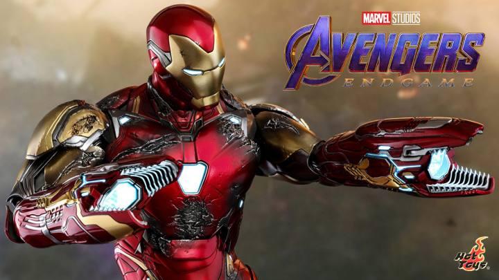 Iron Man mk LXXXV (Battle Damaged Version)