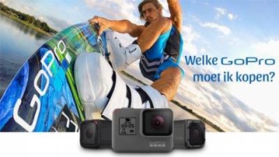 Welke GoPro moet ik kopen?