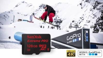 GoPro: Geheugenkaarten