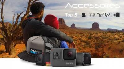 GoPro: Top 5 accessoires