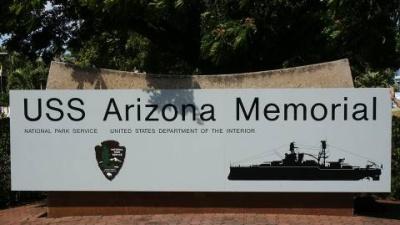 2003 - Oahu, HI, USA - USS Arizona Memorial